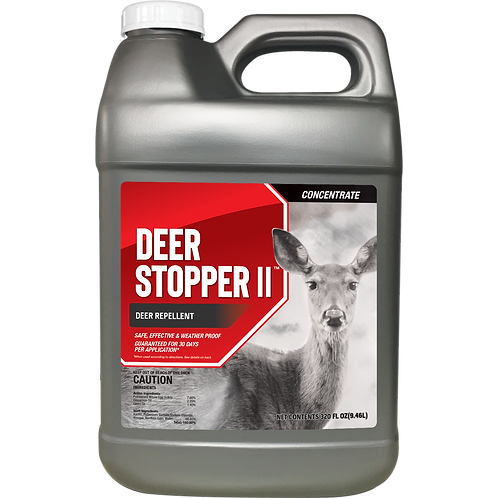 Deer Stopper II Animal Repellent, 2.5 Gallon Concentrate