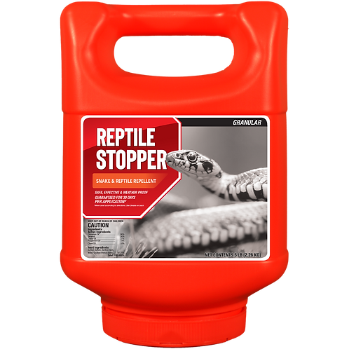 Reptile Stopper Animal Repellent, 5# Ready-to-Use Granular Shake