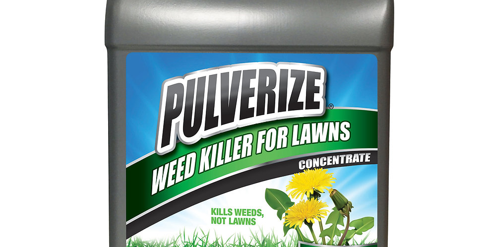 PULVERIZE® Weed Killer for Lawns 1 Gallon Concentrate