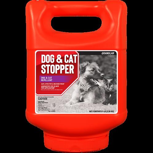 Dog & Cat Stopper 5lb Granule Shaker Jug