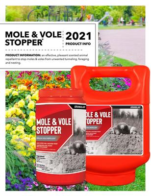 Mole & Vole Stopper Flyer