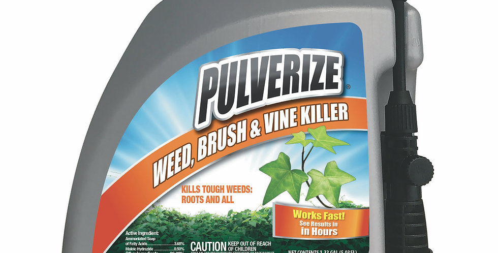 PULVERIZE® Weed, Brush & Vine Killer 128oz Pump Sprayer