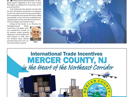 MESSINAS' International Efforts Highlighted in NJ BIZ Article