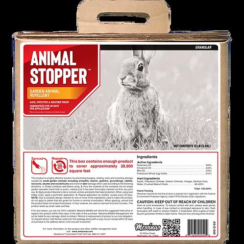 Animal Stopper Animal Repellent, 40# Ready-to-Use Granular Bulk