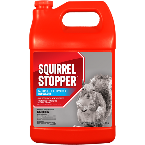 Squirrel Stopper Gallon Ready to Use Refill Bottle