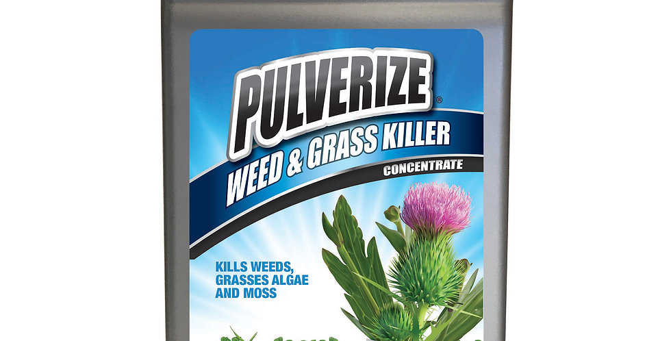 PULVERIZE® Weed & Grass Killer 32oz Concentrate