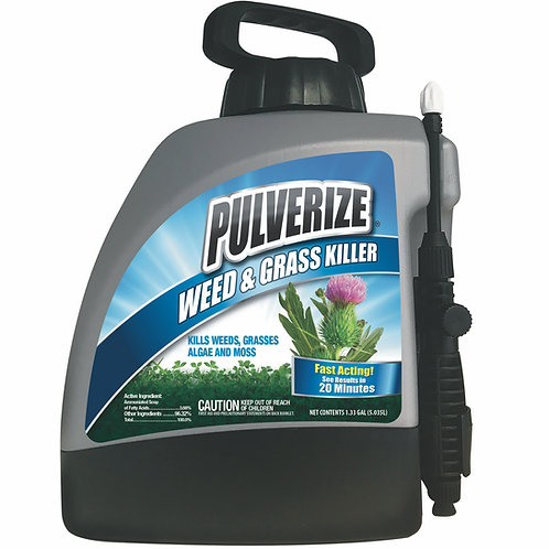 Pulverize Weed & Grass Killer, 128oz Ready-to-Use Pump