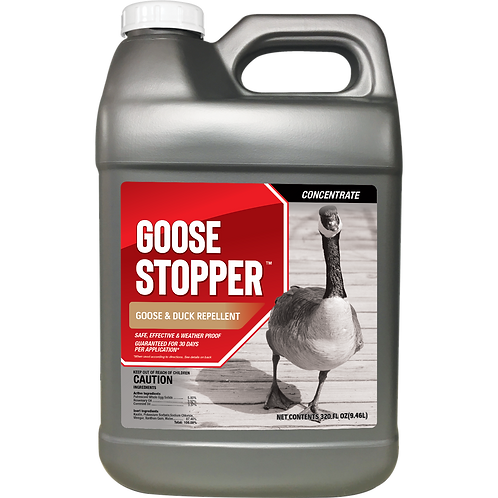 Goose Stopper Animal Repellent, 2.5 Gallon Concentrate