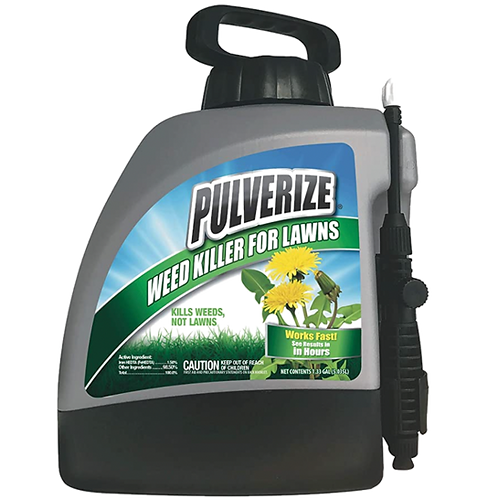 Pulverize Weed Killer for Lawns, 128oz Ready-to-Use Pump