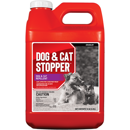 Dog & Cat Stopper Animal Repellent, 12# Ready-to-Use Bulk