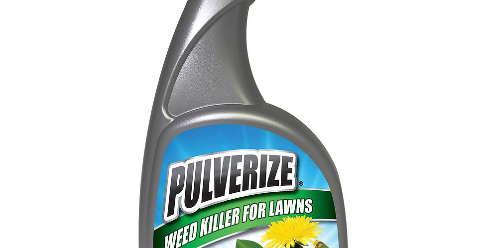 PULVERIZE® Weed Killer for Lawns 32oz Ready to Use
