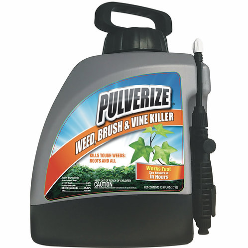 Pulverize Weed, Brush & Vine Killer, 128oz Ready-to-Use Pump