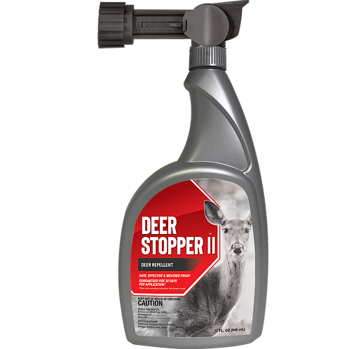 Deer Stopper II Animal Repellent, 32oz Ready-to-Spray Hose End