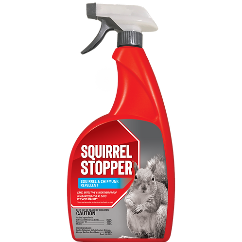 Squirrel Stopper Repellent, 32oz Ready-to-Use