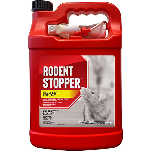 Rodent Stopper Animal Repellent, Gallon Ready-to-Use with Nested Sprayer