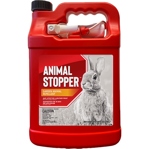 Animal Stopper Animal Repellent, Gallon Ready-to-Use with Nested Sprayer