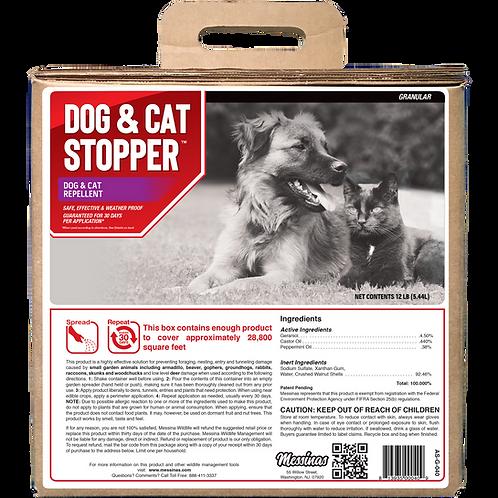 Dog & Cat Stopper Animal Repellent, 40# Ready-to-Use Granular Bulk