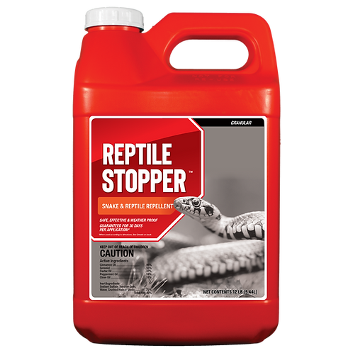 Reptile Stopper 12lb Granule Shaker Jug