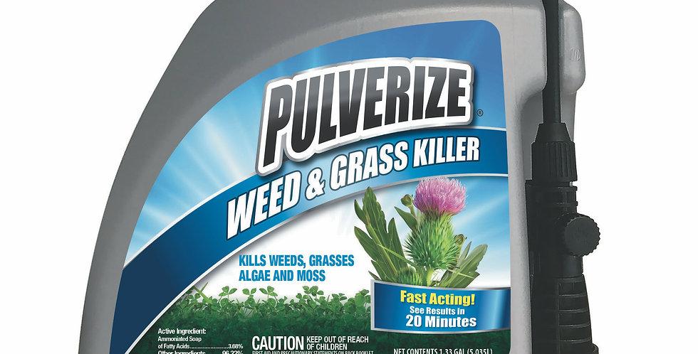 PULVERIZE® Weed & Grass Killer 128oz Pump Sprayer