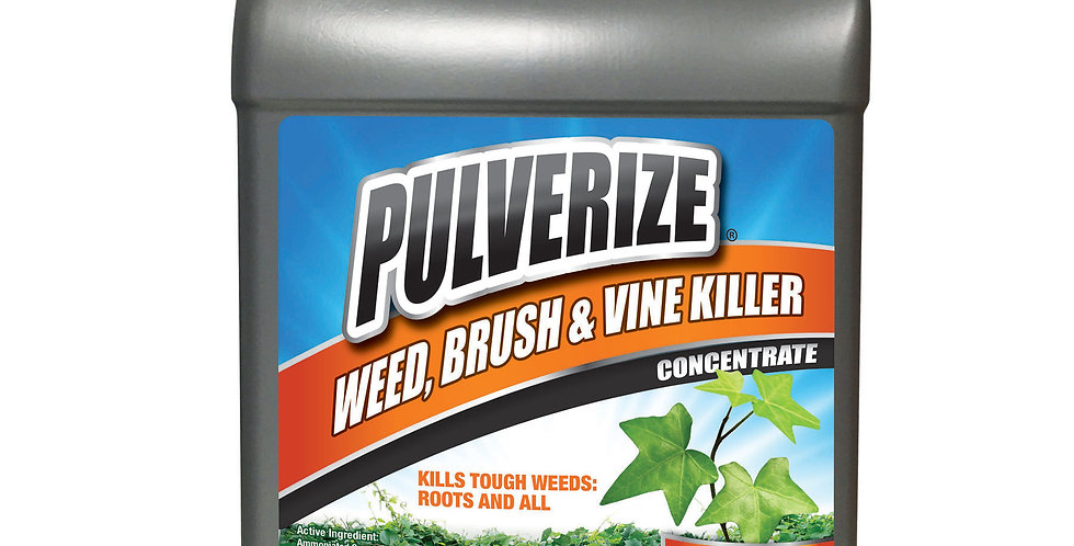 PULVERIZE® Weed, Brush & Vine Killer 1 Gallon Concentrate
