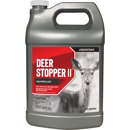 Deer Stopper II Animal Repellent, 1 Gallon Concentrate
