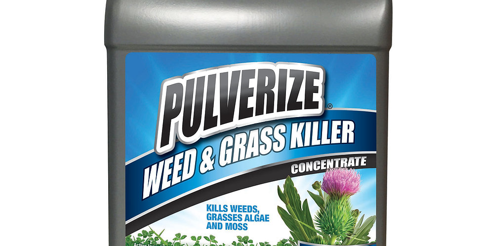 PULVERIZE® Weed & Grass Killer 1 Gallon Concentrate