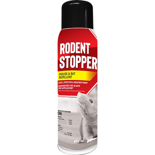 Rodent Stopper Repellent, Pressurized Spray Can