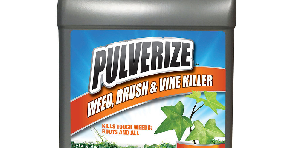 PULVERIZE® Weed, Brush & Vine Killer 1 Gallon Refill Ready to Use