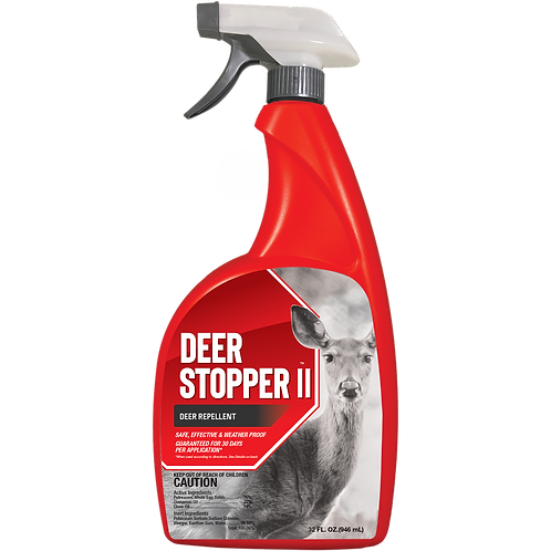 Deer Stopper II Animal Repellent, 32oz Ready-to-Use