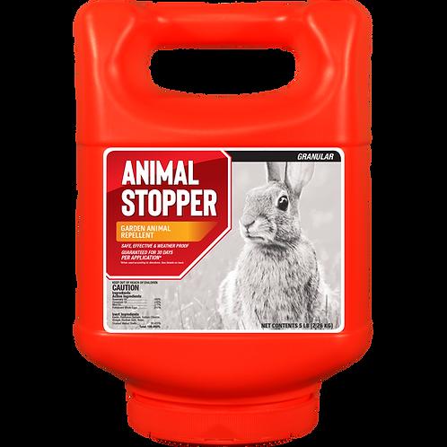 Animal Stopper Animal Repellent, 5# Ready-to-Use Granular ShakerJug