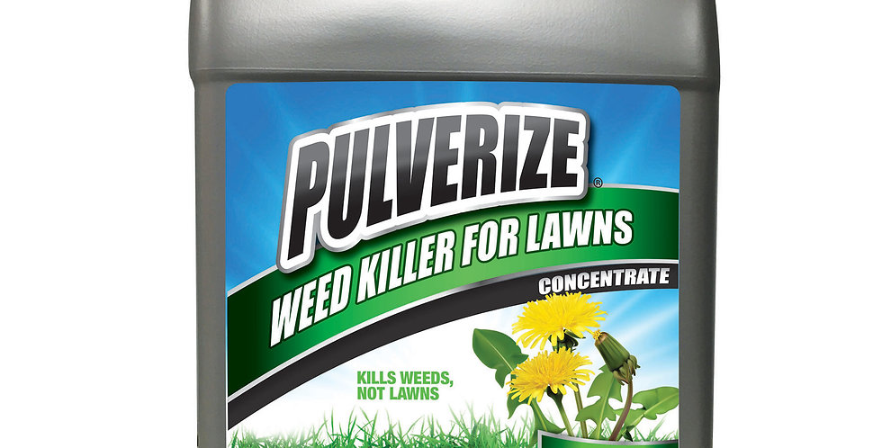 PULVERIZE® Weed Killer for Lawns 2.5 Gallon Concentrate
