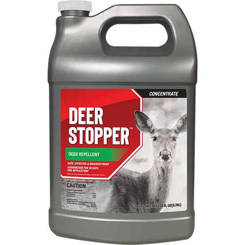 Deer Stopper Animal Repellent, 1 Gallon Concentrate