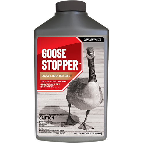 Goose Stopper Animal Repellent, 32oz Concentrate