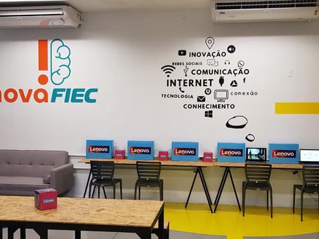 FIEC Inaugura Sala Coworking