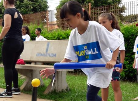 Mais de 600 crianças participam de evento internacional de beisebol em Indaiatuba