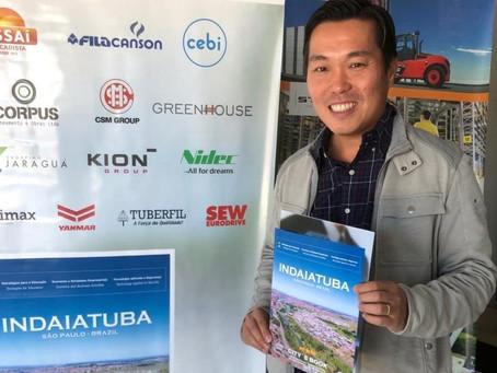 Indaiatuba ganha portfólio bilíngue para atrair investimentos e gerar ainda mais empregos na cidade