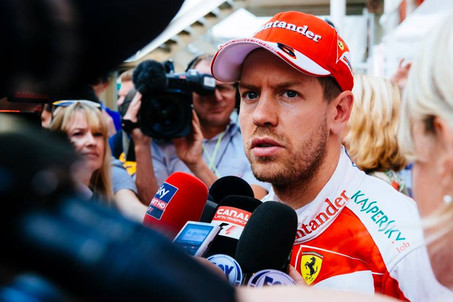 Ferrari still faster the Red Bull says Vettel