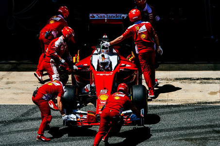Ferrari wanting more from Catalunya