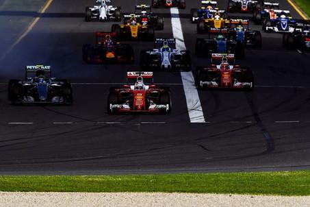 Ferrari breathing down Mercedes necks