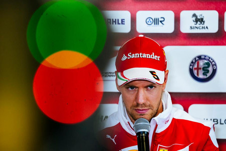 Vettel to drop 5 grid places for Sunday's race