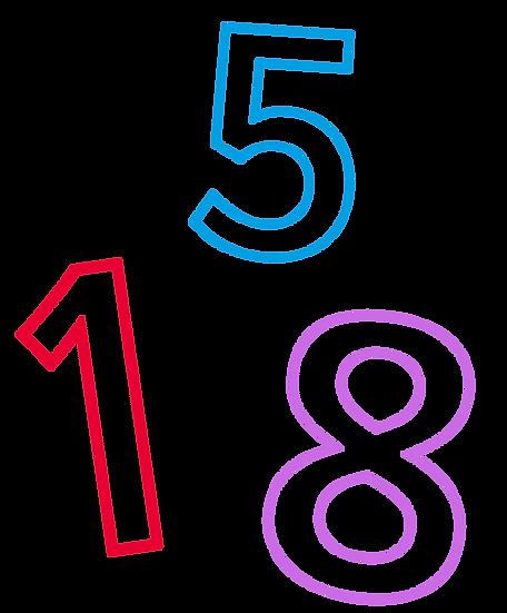 Numerot - setti