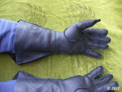 Leather gauntlets Accessories AD1.3