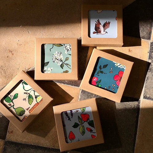 Katie Cardew co-ordinating Coasters