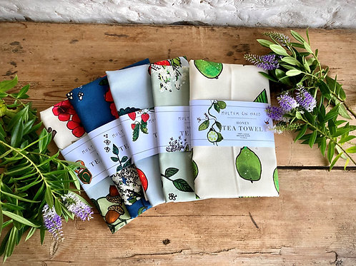 Katie Cardew co-ordinating Tea Towels