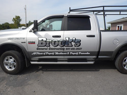 truck graphic chrome brock