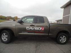 truck graphic chrome