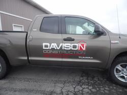 truck graphic chrome close