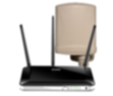 D-Link DWR-953 AC750 WiFi 4G LTE Router w/ Embedded SIM Slot & Outdoor 4G LTE Antenna (750Mbps AC)