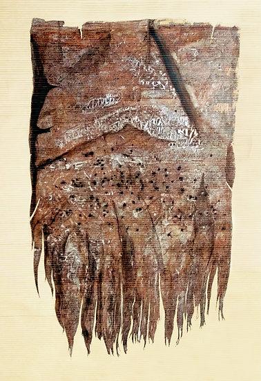 YUSUF | UNTITLED | ACRYLIC, INK ON CANVAS | 183 X 122 CM