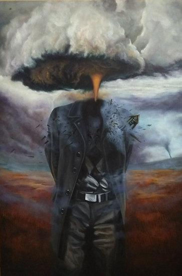 UNTITLED- II | Medium- Oil on canvas | Size- 30 x 45 inch